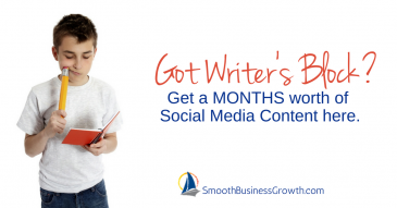 No Excuse – A Month's Worth of Social Media Content!