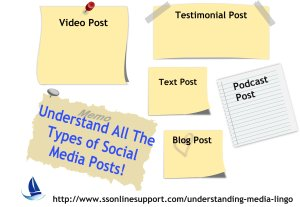Understanding the Different Types of Social Media Posts