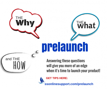 The Why, What & How's of a Pre Launch