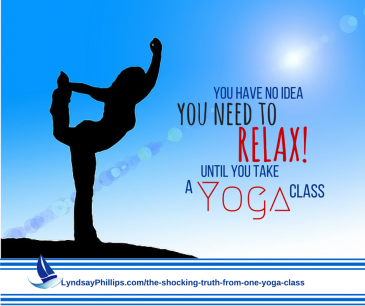 The Shocking Truth From One Yoga Class