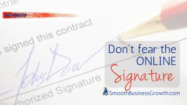 Getting Signatures Online