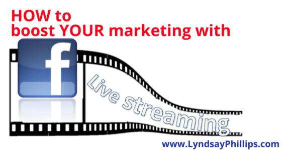 broadcast live on Facebook