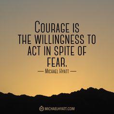 best success tips courage