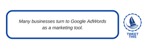 using google adwords