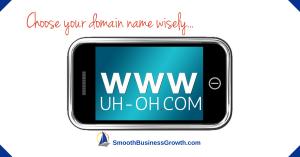 Choosing A Website Name