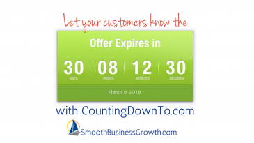 Countdown Timer Tool To Create Urgency In Your Marketing