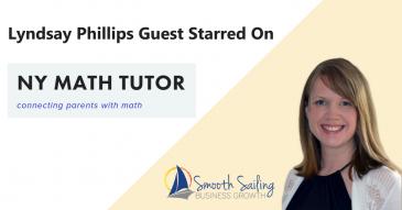 NY Math Tutor – Guest Starred Lyndsay Phillips