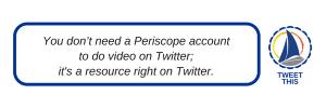 twitter video tips