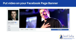 facebook page banner video