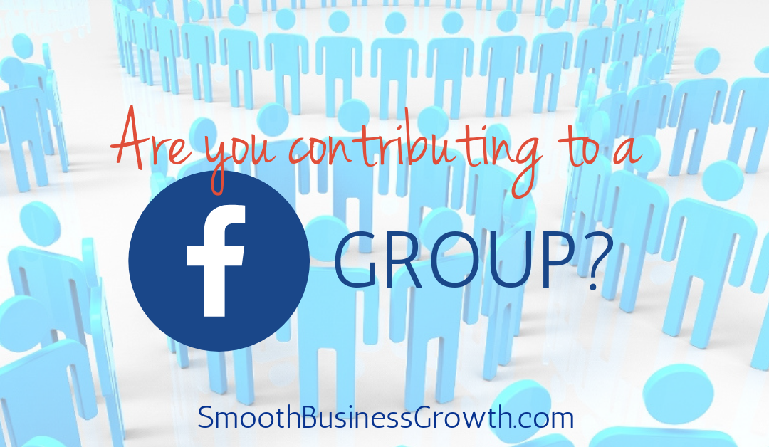 Joining Facebook Groups