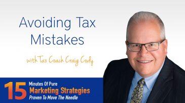 Avoid Tax Mistakes with Tax Coach Craig Cody