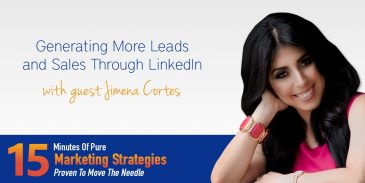 Lead Generation Marketing and Sales through LinkedIn with Jimena Cortes