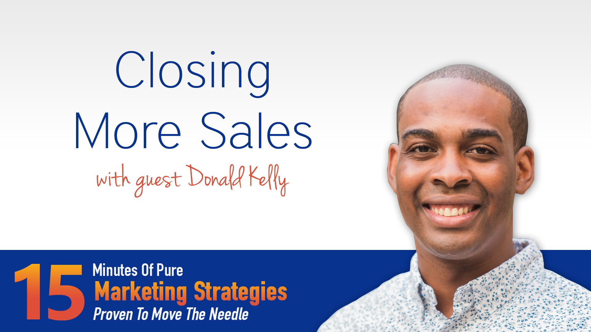 Closing More Sales
