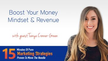 Boost Your Money Mindset & Revenue With Tanya Conner-Green