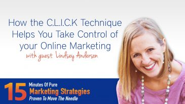 How the C.L.I.C.K Technique helps you take control of your online marketing