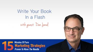 Write your book in a flash with Dan Janal