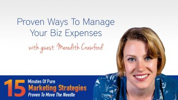 Proven Ways To Manage Your Biz Expenses With Meredith Crawford