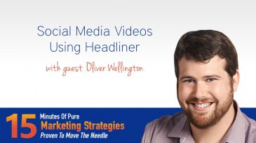 Social Media Videos Using Headliner with Oliver Wellington
