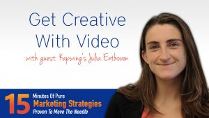 Get Creative With Video