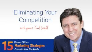 Eliminating Your Competition