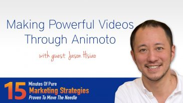 Making powerful videos through Animoto with Jason Hsiao