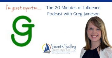 Content Marketing: My interview on the 20 Minute of Influence Podcast with Greg Jameson
