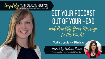 Discover how to amplify your message with podcasts and start building your audience for success