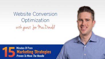 Website Conversion Optimization with Jon MacDonald