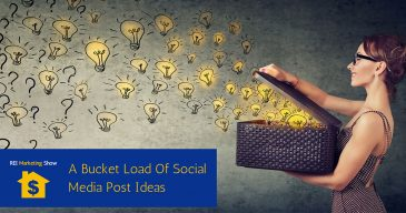 A Bucket Load Of Social Media Post Ideas