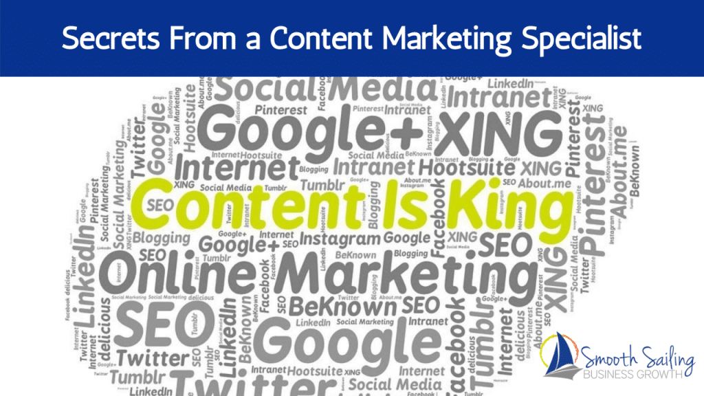 Secrets From a Content Marketing Specialist