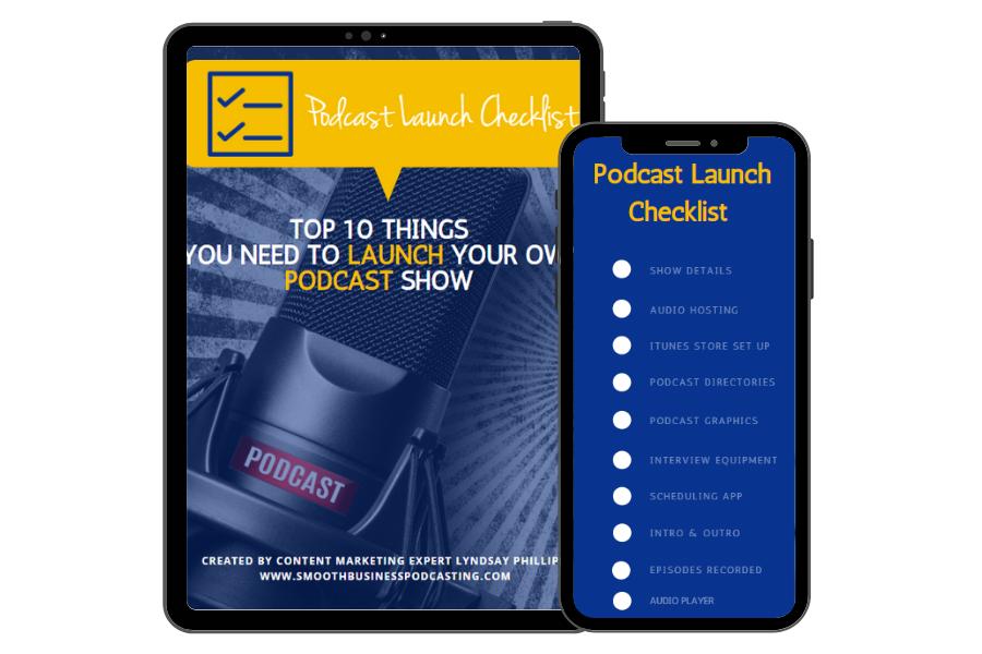 Podcast Launch Checklist